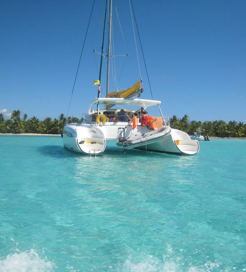 Catamaran excursion in Punta Cana